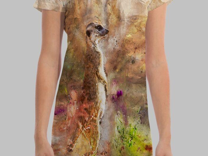 Meerkat 01 All-Over Dress